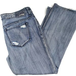 Distressed Studded Express Jeans Size 12